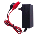 12V Crocodile Plug Charger for Lead-Acid Battery