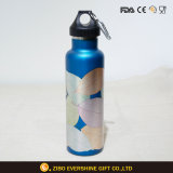 Clear Stainless Steel Vacuum Mug Thermal Flask Water Bottle