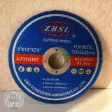 Resin Bonded Cutting Disc for Steel-125X3X22.2