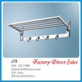 Chroming Color Bathroom Towel Rack (J19)