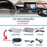 Android Navigation System for 2010-2015Audi A6l/S6/A8l/Q7/A4l/A5/Q5/Q3/A1 Support Multi-Language