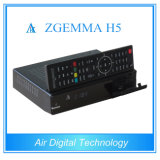 Smart Box DVB S2 DVB T2 DVB C with IPTV Support Kodi Hevc/H. 265 Zgemma H5