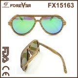 Wholesale Sales of The New Design High Quality UV 400ce Polarized Wooden Sunglasses