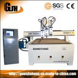 1300X2500mm, Genuine Nc Studio, Hsd/ Hqd Spindle, Nk 105 Handle, Vacuum Table, Pim Screw & Guild Rail, Multi Workstage CNC Router