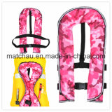 China 150n Single Air Chamber Inflatable Life Jacket