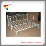 Folding Metal Day Bed with Wood Slats (dB002)