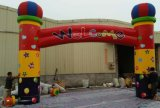 7m Height Nylon Coated Custom Made Beauty Big Inflatable Arch