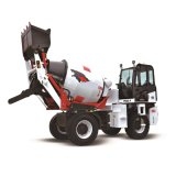 High Quality 2.4m3 Self Loading Mobile Concrete Mixer Truck (HQ2.4) for Sale
