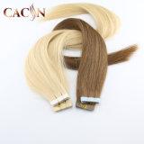 Cheap Brazilian Curly PU Virgin Super Tape in Human Hair Extension