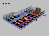 Durable Kids Fitness Park Customized Wholesale Indoor Trampoline