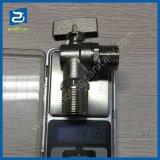 Plumbing Material Nickel Bathroom Toilet Brass Water Angle Valve
