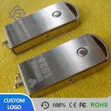 Cheap Swivel Metal Square USB Memory Stick 8GB with Laser Logo
