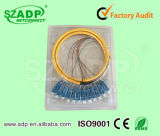 12 Core Sm Optical Fiber Pigtail 0.9mm Pigtail Cable with FC Sc LC St Connectors