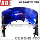 Curved Triangle LED Display with Excellent Performance