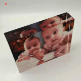 Crystal Glass Baby Photo Frame Customized Wedding Holiday Souvenir Picture Frames