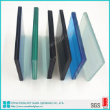Soundproof 10mm 12m Thick Toughened Laminated Glass Cheap Glass for Window