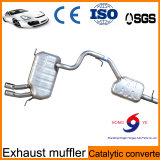 Car Autoparts Stainless Steel Exhaust Muffler From Chinese Factory with High Reputation