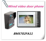 "7"" Color TFT Home Security System Video Door Phone Doorbell"