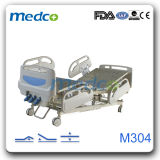 Good Price! Medical Manual Bed, 3 Cranks Manual Hospital Bed for Patient
