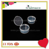 Clear Transparent Hermetic Seal Mini Plastic Container With Lid Cap