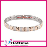 Top Sell Fashionable Stainless Steel Magnetic Bracelet for Unisex (CP-JS-BL-112)