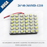 26*40mm 36SMD 1210 LED Roof Lamp for Auto