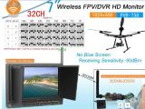 32 Channel 5.8GHz Wireless Receiver with 7 Inch Monitor, DVR
