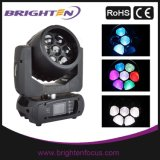 7X15W 4-in-1 RGBW LED Moving Head Wash Light