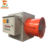 Small Moveable Ventilation Fan Farm Tubular Electric Air Heater