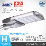 Dlc Listed Energy Saving 135W LED Street Light with Lm79 and Motion Sensor for Public Lighting
