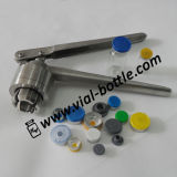 Hand Operated Flip off Top Crimping Tool (HVVC006)