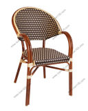 Wholesale Outdoor Aluminum/Alloy Bamboo Rattan Chair (TB-07)
