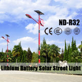 Popular Style Solar Street Light for Sale with 12V 30ah~60ah Lithium Battery IP65 Hot Sale