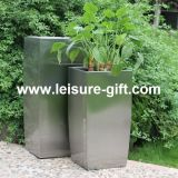 New Decorative Stainless Steel Flower Pot (FO-9007)