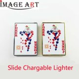Sublimation Blank Rechargeable Windproof Electric USB Lighter for DIY Personalized Customization