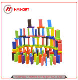 Educational Toy Wholesale Colorful Wooden Dominos for Kids