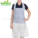 Clear Waterproof Disposable Plastic Polyethylene PE Apron for Cooking Painting