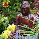 Factory Cutom Handmade High Quality Low Price Stone Marble Garden Buddha Statue Religious