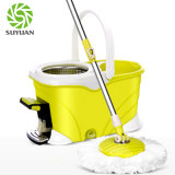 Wholesale Price Yellow Green Microfiber Material Roto Mop