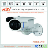 Intellgent Varifocal IR IP Bullet Camera for CCTV Surveillance System
