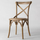 (SL8123) Antique Wooden Wedding Dining Chair for Restaurant Furniture