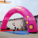 Guangzhou Supplier Festival Decorating Inflatable Round Shaped Arch for Openings