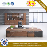 Guang Dong Standing Workstation Oak Color Office Furniture (HX-8NE017)