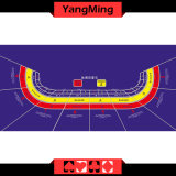Baccarat Casino Table Layout-8p with Custom Request (YM-BL06P)