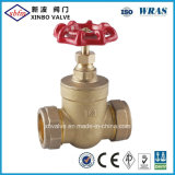 Brass Gate Valve with Compression End