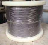 316 Non-Magnetic Stainless Steel Wire Rope 1X19, Diameter 1.5mm