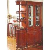 Wooden Wine Rack for Dining Room Furniture Cabinet