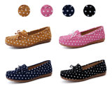 Classic Style Women Swede Dance Shoes Dress Shoes (FTS1019-23)
