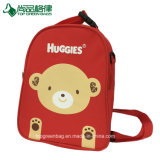 Custom 600d Fashion Cartoon Child School Bag Red Kids Backpack
