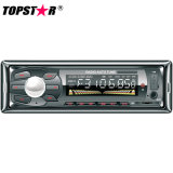 One DIN Fixed Panel Car MP3 Player SD Player with ID3 Tag